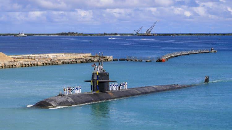 Atomare US-U-Boote: Ein neues Gleichgewicht des Schreckens. (Naomi Johnson / AP)