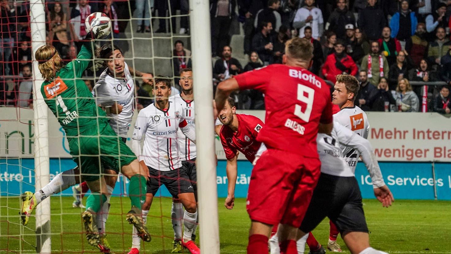 Goalie Enzler mit Glanzparaden und ein überforderter Conus – die FCA-Noten zum Unentschieden gegen Winterthur