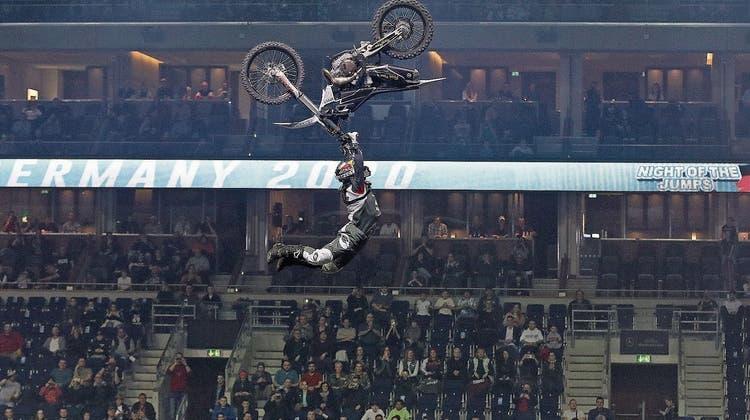 Freestyle-MotocrosserLuc Ackermann vor der Night of the Jumps: «Angst darf man nicht haben»