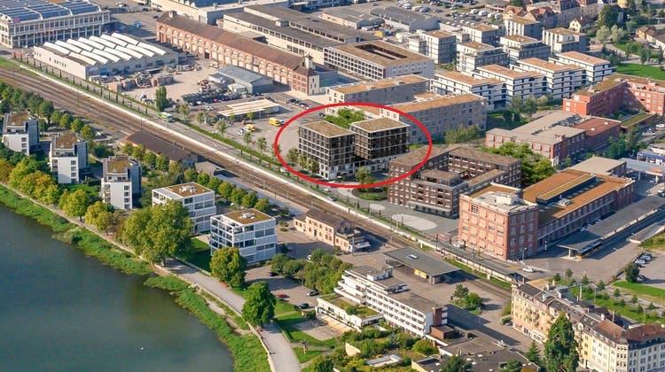 Wichtig für die Standortförderung: Übernachtungsmöglichkeiten. Eingekreist in rot soll im Städtli ein neues Hotel entstehen. (Andrea Stalder)