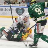 Die unerwartete Rückkehr von Rickard Palmberg ins Line-up verlieh dem HC Thurgau gegen La Chaux-de-Fonds zusätzlich Kräfte. (Mario Gaccioli)