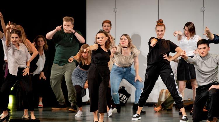 Musical Big Dreams:Eine geglückte Premiere im Parktheater Grenchen. (Bild: Corinne Glanzmann)