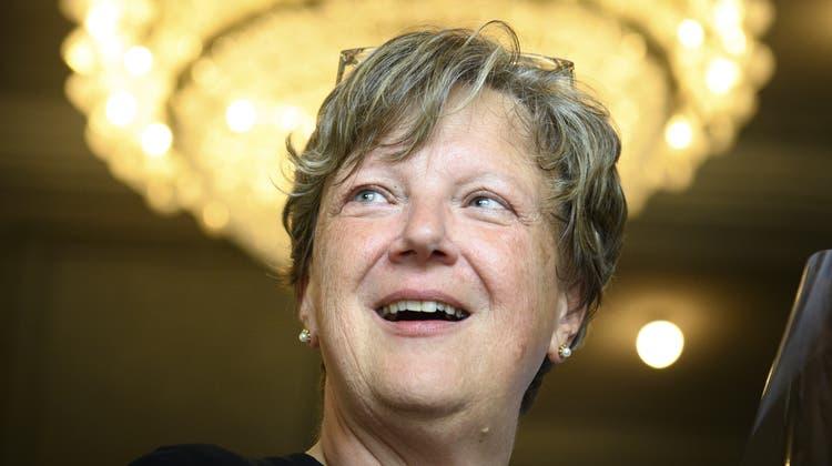 Nachfolgerin von SP-Mann Christian Levrat: Isabelle Chassot(Mitte) ist neu Freiburger Ständerat. (Laurent Gillieron / KEYSTONE)