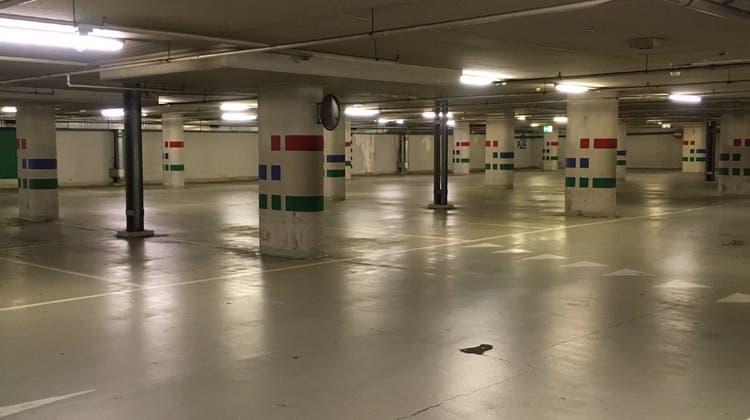 Parkhaus Passage in Frauenfeld. (Bild: PD)