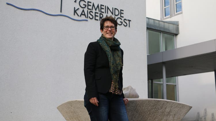 Françoise Moser wurde als Gemeindepräsidentin für vier weitere Jahre gewählt. (Dennis Kalt / Aargauer Zeitung)