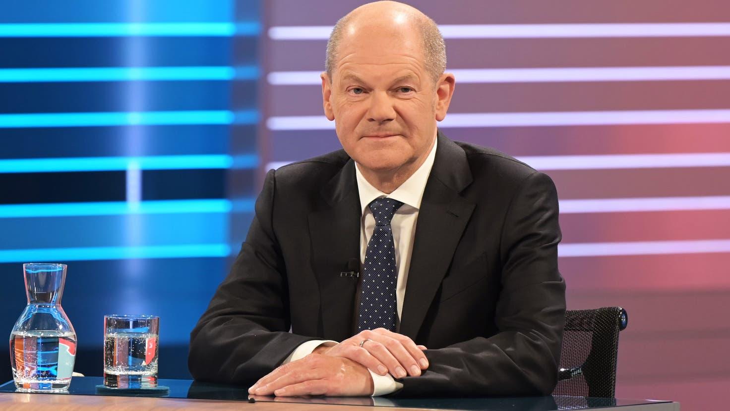 Olaf Scholz: «Ich möchte Kanzler der Bundesrepublik Deutschland werden» ++ SPD baut den Vorsprung mit 25,7%weiter aus