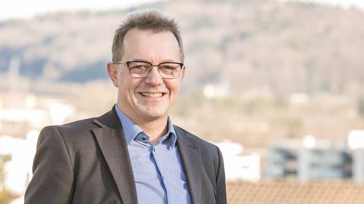 Ammann-Kandidat Martin Uebelhart aus Neuenhof. Fotografiert am 15. Januar 2020. (Sandra Ardizzone / BAD)