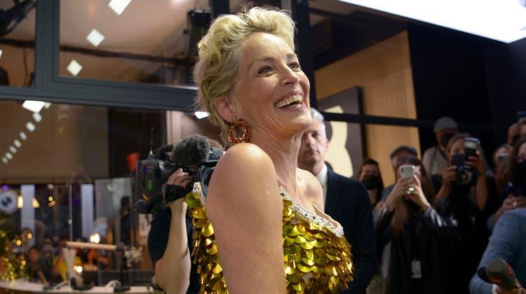 Sharon Stone anlässlich der Verleihung ihres «Golden Icon Award» in Zürich. (Bild: Luiz Freire/ZFF)