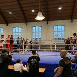 Das Box-Meeting konnte mit einem ausgeliehenen Ring trotzdem durchgeführt werden. (Bild: Janina Gehrig)
