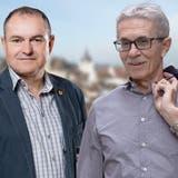 Setzt sich klar durch: Herbert Weiss bleibt Stadtammann. (Zvg / Aargauer Zeitung)