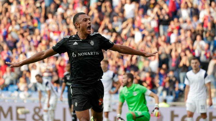 Dan Ndoye zeigt gegen den FC Zürich, weswegen ihn der FCB aus Nizza holte. (Marc Schumacher / freshfocus)