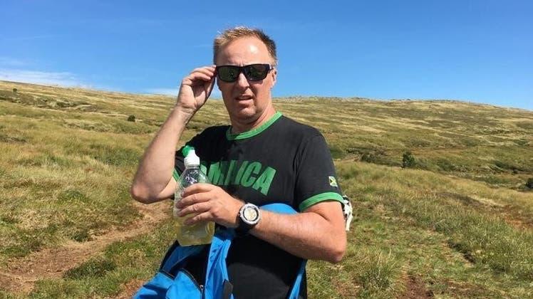 Rainer Sommerhalder– momentan gerade auf einer Bergtour – hat nicht als Ammann kandidiert, wurde aber gewählt. (zvg)