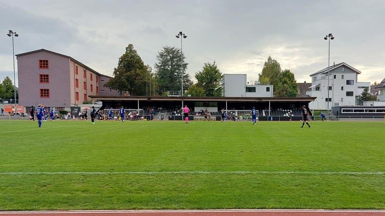Das Spiel der Wohler in Köniz verfolgten rund 100 Fans. (Benjamin Netz)