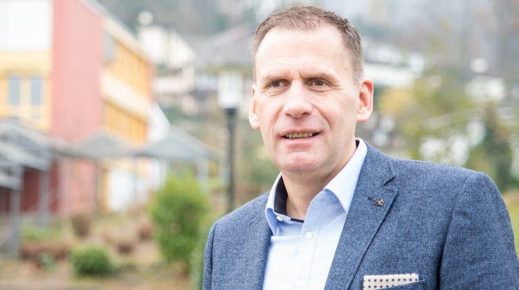 Der 54-jährige Markus Schmid wurde am Sonntag zum Gemeindeammann gewählt. (Barbara Scherer)