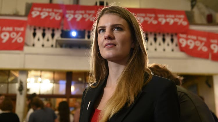 Die 99%-Initiative fällt beim Stimmvolk durch. Juso-Präsidentin Ronja Jansen kündigt aber bereits die nächste Initiative an. (Keystone)