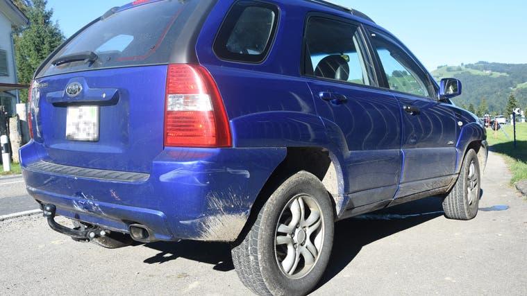 Der Sachschaden bei diesem Unfall beträgt rund 6000 Franken. (Bild: kapo)