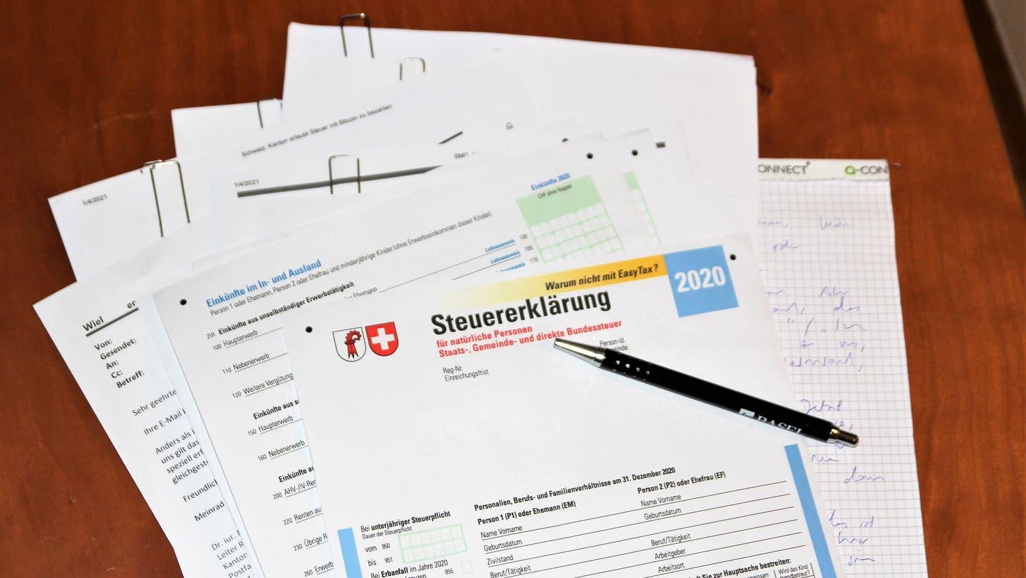 Kommt die Individualbesteuerung, müssen Ehepaare ihre Steuererklärung anders ausfüllen. (Benjamin Wieland)