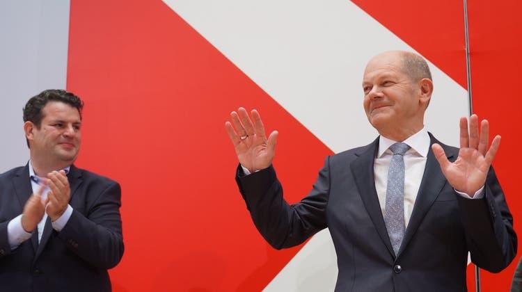 Scholz: «Niemand kommt ohne Schaden am Votum der Wähler vorbei» ++Laschet hat Gespräch mit Lindner geführt, heute mit Baerbock