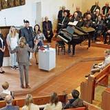 Gesang, Gebete und eine Taufe: erster Gottesdienst ohne Masken am Bettag in der Bernecker Kirche