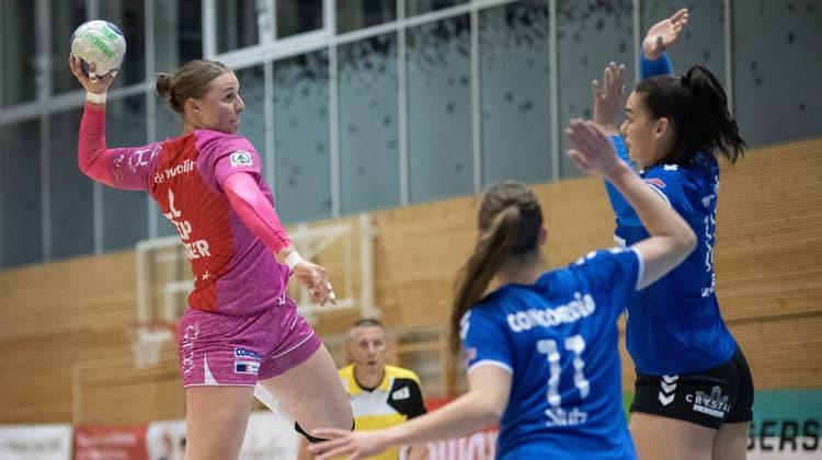 Die Nottwilerin Xenia Hodel (links) hat ein Aufgebot für das Nationalteam. (Bild: Pius Amrein  (Nottwil, 28. April 2021))