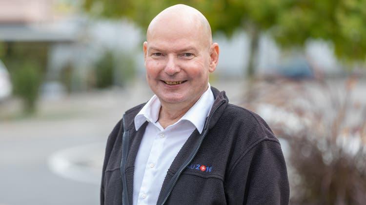 Bruno Rudolf, der langjährige Vizeammann will neuer Ammann werden. (Fabio Baranzini)
