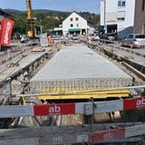Auslöser der Attraktivierungsbemühungen waren auch die Sanierungsarbeiten rund um den Cholersbach. (Bruno Kissling / Oltner Tagblatt)