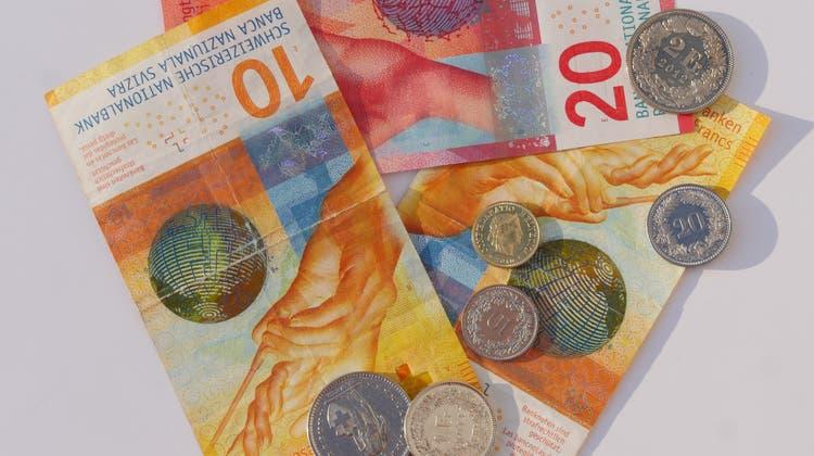 Die Ausgaben im kommenden Jahr werden auf 9,53 Milliarden Franken geschätzt. (Symbolbild) (Beat Eglin)