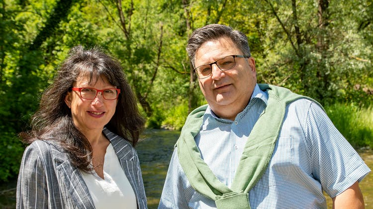 Claudia Kull und Daniel Bucher (beide SVP) verpassten die Wahl in den Gemeinderat. (Peter Winkelmann / LBA)