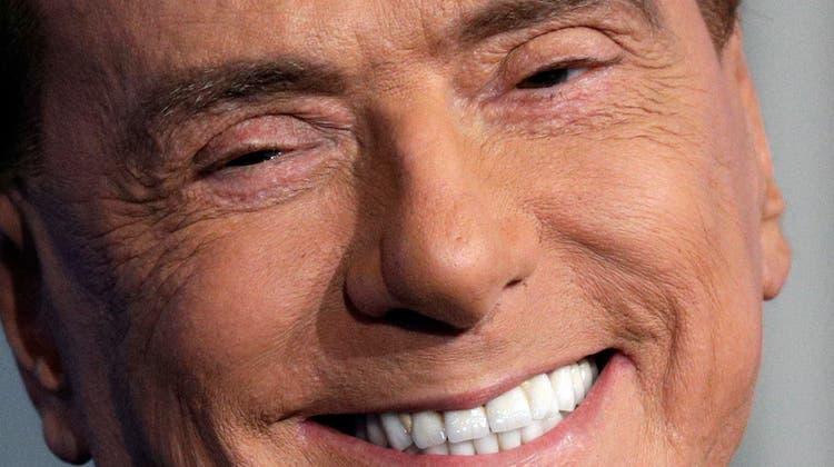 Denkt auch mit 85 nicht ans Aufhören: Silvio Berlusconi (auf einer Aufnahme von 2018). (Keystone)