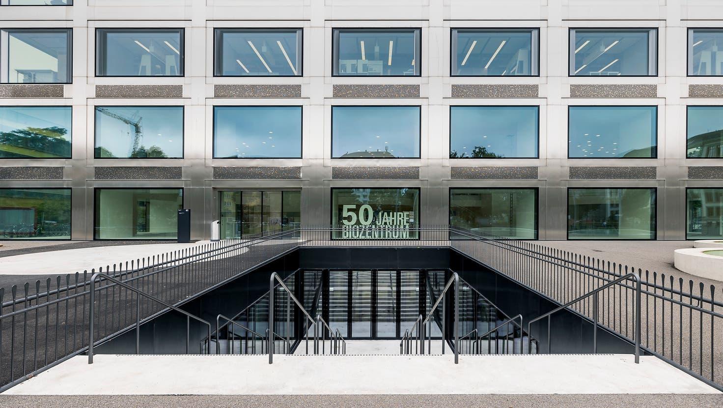 50 Jahre Biozentrum: Pünktlich zur Eröffnung des Neubaus feiert die Universität Basel das Jubiläum des Forschungsinstituts. (Kenneth Nars)