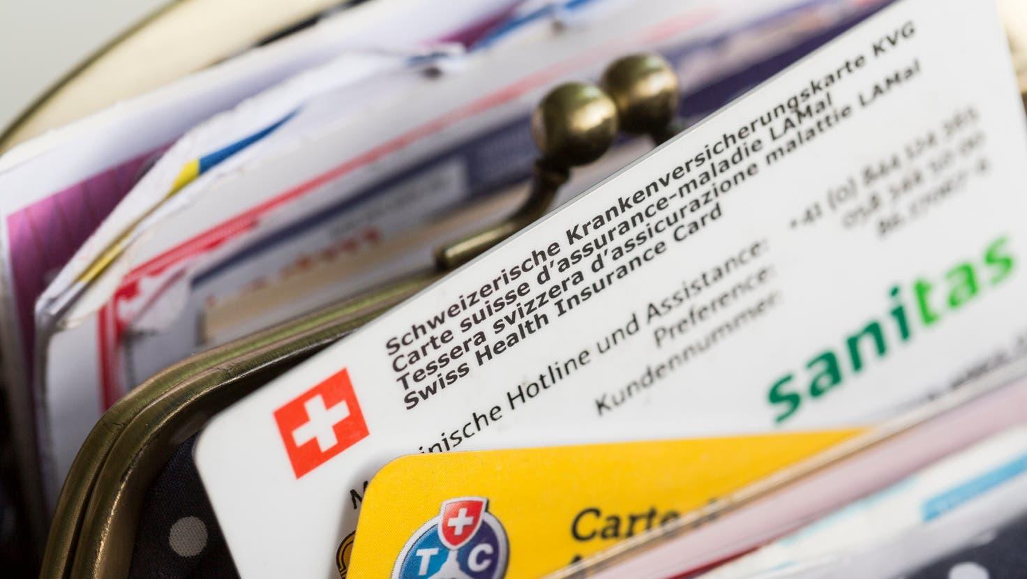Im Kanton Zürich werden die Prämien 2022 um 0,2 Prozent sinken. (Symbolbild) (Christian Beutler)