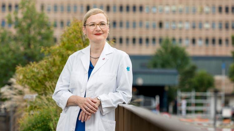 Cornelia Leo ist seit 2014 Leiterin des Brustzentrums am Kantonsspital Baden. (Bild: Sandra Ardizzone)