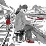 Die Serie erzählt Basler Stadtgeschichte entlang der fiktiven Biografie von Max Streuli. (Raphael Gschwind)