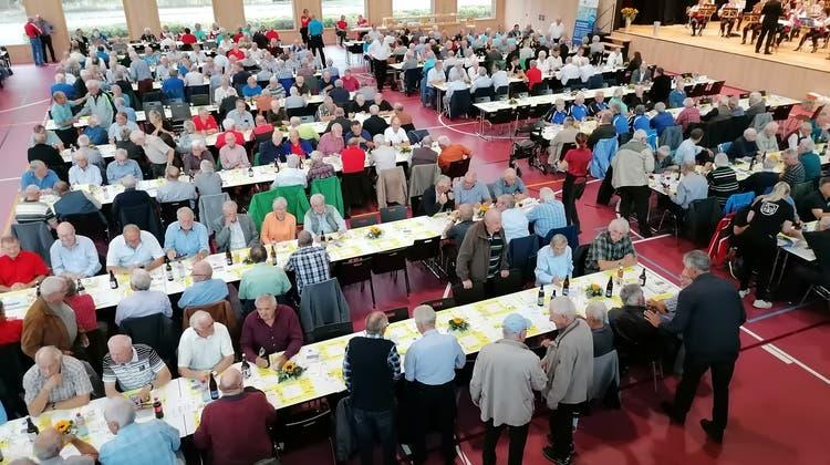 Aargauer Turnveteranen beschlossen Beitragserhöhung sowie Beitrag an das Aargauer Turnzentrum