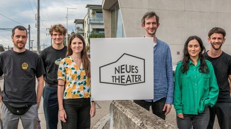 Das neue Team: Luca Zeller, Orell Semmelroggen, Laure Aebi, Jonas Gygax, Noëmi Steffen und Jonas Darvas (v.l.n.r.). (Nicole Nars-Zimmer)