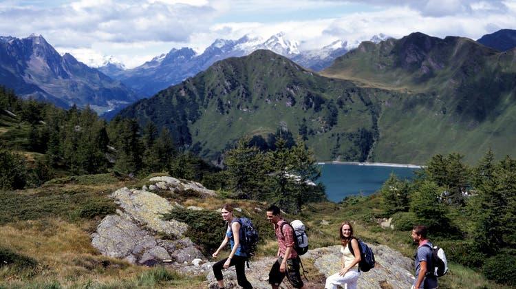Wandern im Tessin – auch 2021 ist das in den Ferien ein beliebtes Freizeitvergnügen. (Bild: Ticino Turismo)