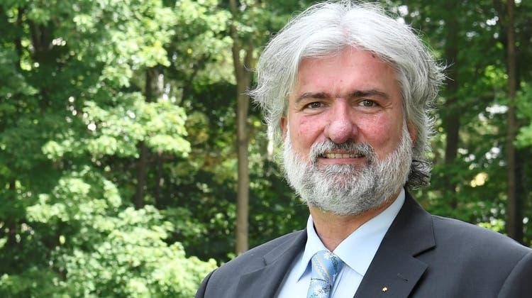 Noch ohne Fraktionspartner: Die EVP mit Lutz Fischer-Lamprecht. (Zvg)