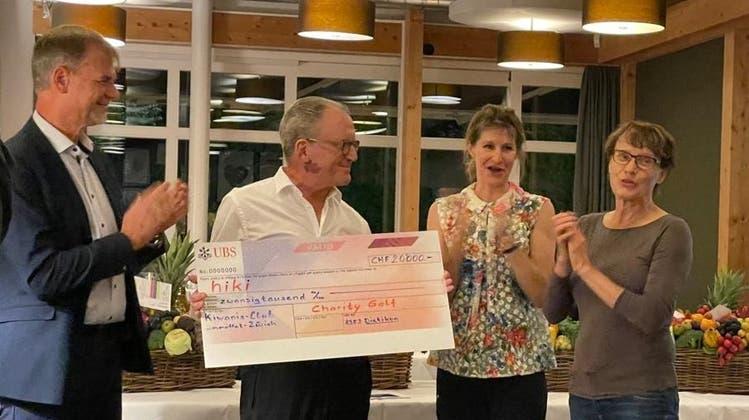 20'000 Franken konnte der Kiwanis-Club Limmattal-Zürich sammeln. (zvg)
