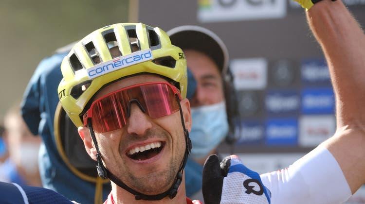 Der frischgebackene neunfache Weltmeister Nino Schurter. (Roberto Tommasini/Freshfocus)