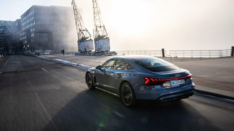 Audi e-tron GT: 487 km Reichweite, ab 111550 Franken. (Bild: zVg)