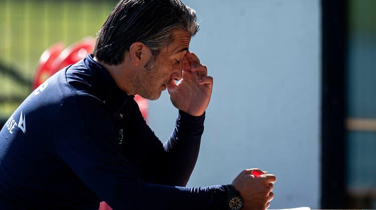 Fragezeichen: Von ihnen gibt es für den neuen Nati-Trainer Murat Yakin aktuell genug. (Freshfocus)