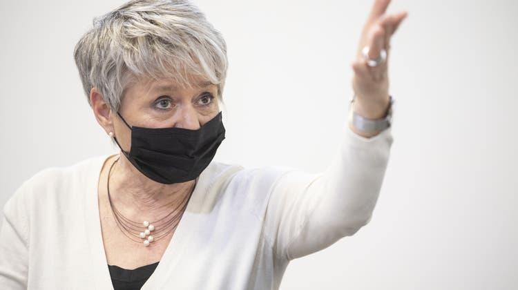 Umstrittener Verweis auf «stark betroffene Community»: Zürcher Regierungspräsidentin Jacqueline Fehr. (Keystone)