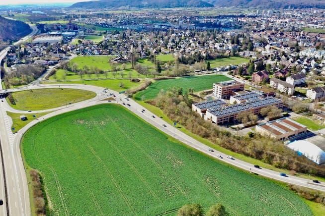 Der Standort in Rheinfelden neben der Autobahn. Kommt er im Grossen Rat zurück ins Rennen?