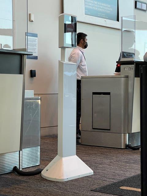 So sieht die Kamera-Installation am San Francisco International Airport aus.