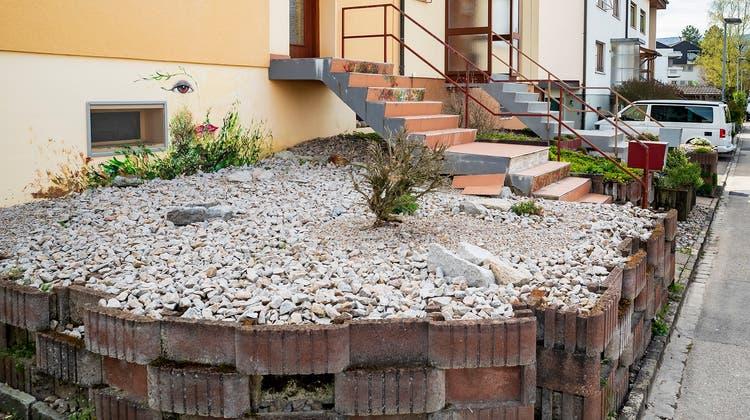 Die Baselbieter Regierung muss sich mit Schottergärten im Kanton beschäftigen. (Kenneth Nars)