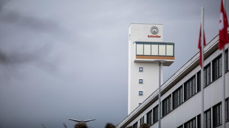 Blick auf den Schindler-Hauptsitz in Ebikon. (Bild: Manuela Jans-Koch (13. Februar 2020))