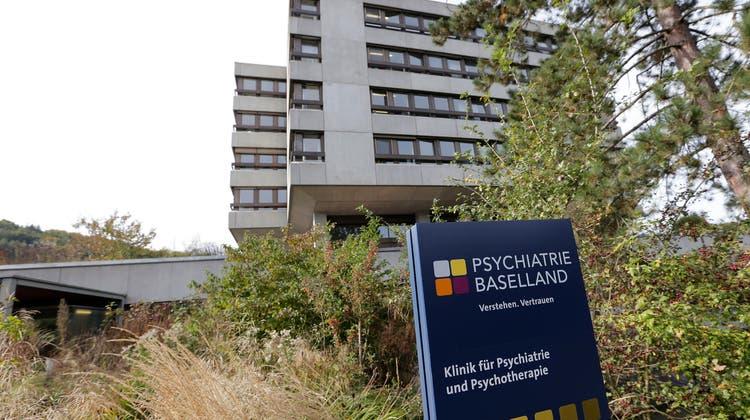 Warum gibt es in Baselland so wenige fürsorgerische Unterbringungen? Bild: Psychiatrie Baselland (PBL) in Liestal. (bz-Archiv)