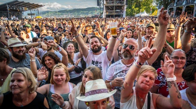 Christof Huber, Chef des Summerdays-Festivals in Arbon und des Open Airs St.Gallen. (Bild: Andri Vöhringer)