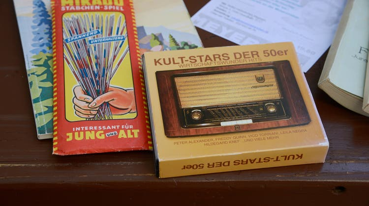 Spiele und Musik aus den 50er Jahren liessen die Herzen von Retro-Fans höher schlagen. (Hansjörg Sahli / Solothurner Zeitung)