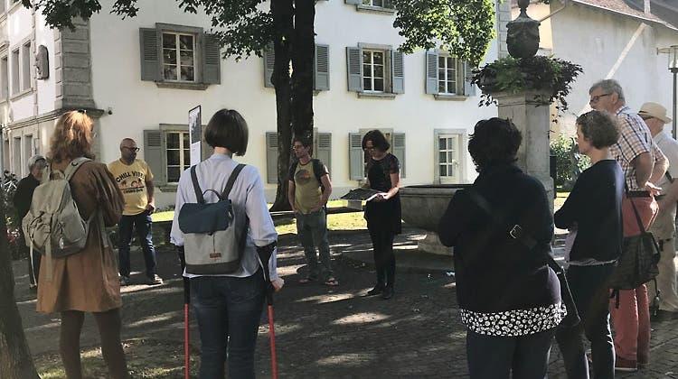 SP-Quartierspaziergang zur Grünstadt für alle